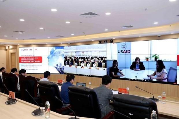"""越南计划与投资部与美国国际开发署共同启动""""创新人力资源——创业生态系统""""活动 hinh anh 2"""