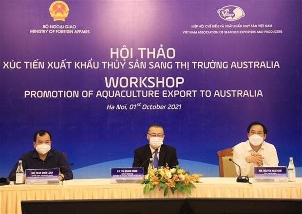 越南水产品对澳大利亚市场的出口潜力巨大 hinh anh 1