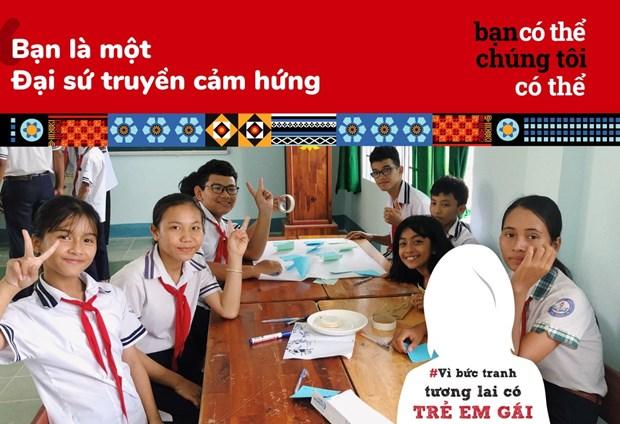 打造女童身处其中的未来画面:传播鼓励少数民族女孩学习的50个励志故事 hinh anh 1