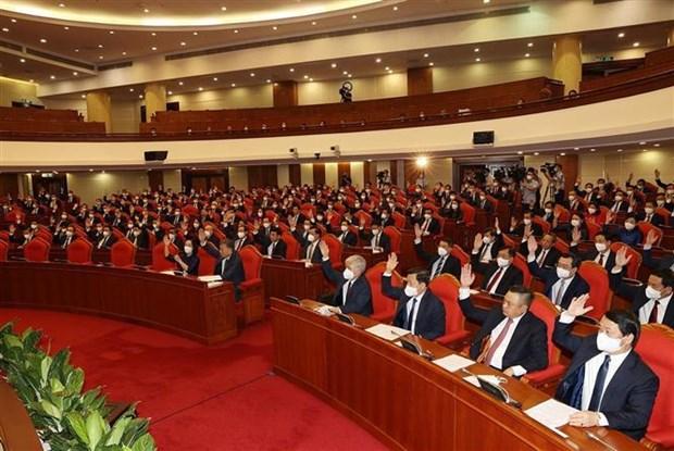 阮富仲:将整党建党与政治制度建设紧密结合 hinh anh 2