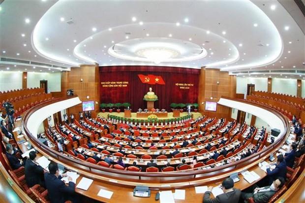 阮富仲:将整党建党与政治制度建设紧密结合 hinh anh 3