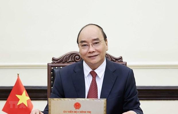 越南国家主席阮春福就提高劳动技能发出呼吁信 hinh anh 1