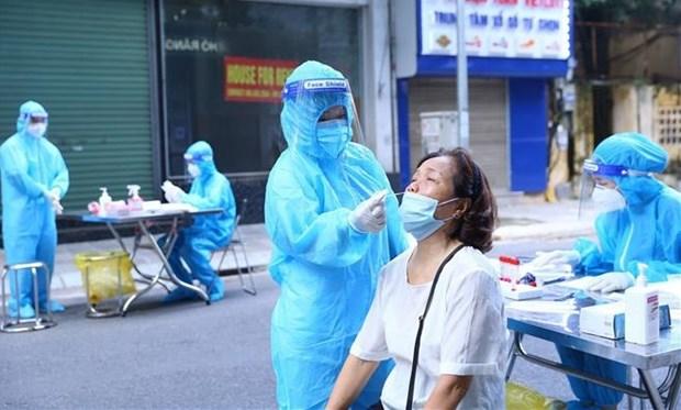 10月6日上午河内市无新增新冠肺炎确诊病例 hinh anh 1