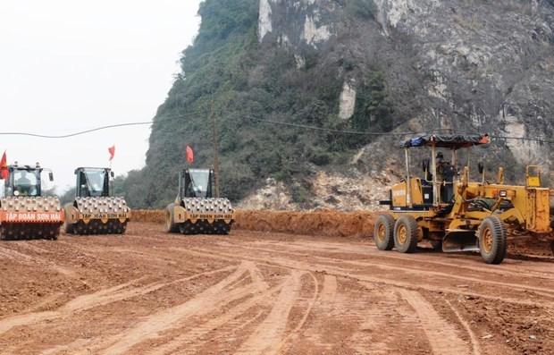 2021-2025年阶段越南将启动北南高速公路中的9个项目 hinh anh 1