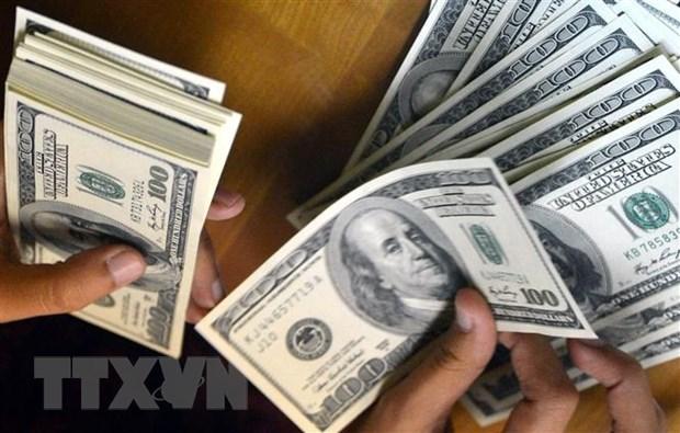 10月8日上午越盾对美元汇率中间价上调5越盾 hinh anh 1