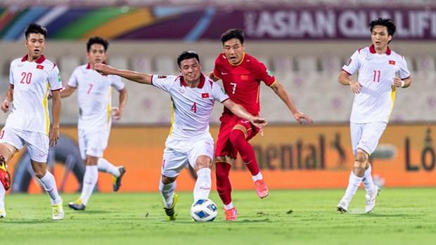 世界杯亚洲区预选赛12强赛:中国队以3比2击败越南队 hinh anh 2