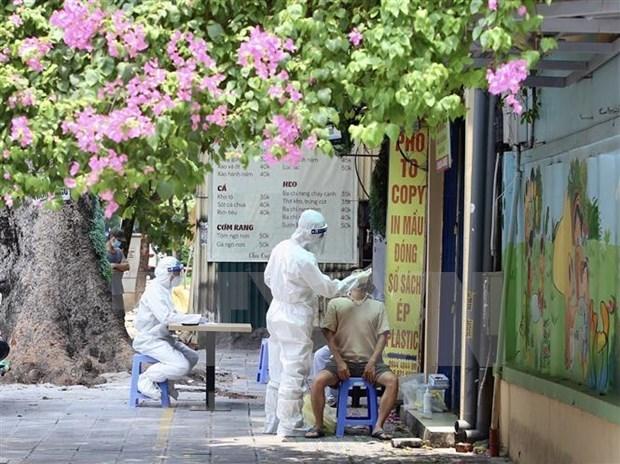 10月9日越南新增4513例新冠病例 105例死亡病例 hinh anh 1