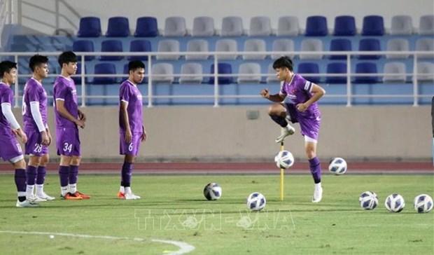 2022年世界杯预选赛:越南力争进球获得积分 hinh anh 1