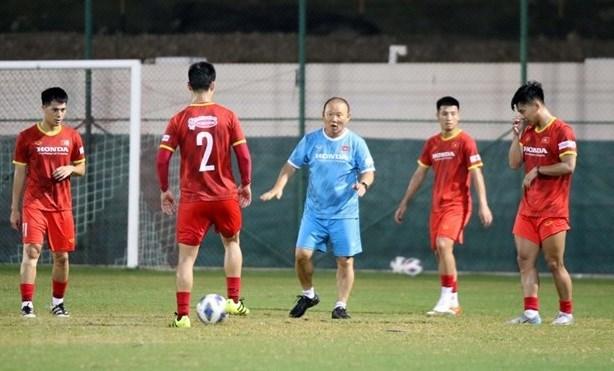 2022年世界杯预选赛:越南力争进球获得积分 hinh anh 2