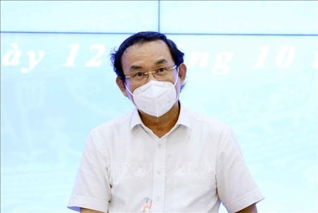 国家主席阮春福:控制好疫情是经济复苏的先决条件 hinh anh 2
