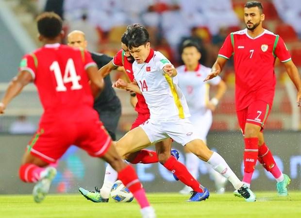 2022年卡塔尔世界杯亚洲区预选赛12强赛B组第四轮:阿曼队主场以3-1击败越南队 hinh anh 1