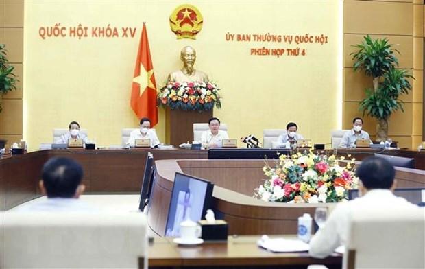 国会常委会第四次会议:确保土地基金能满足基础设施系统发展要求 hinh anh 1