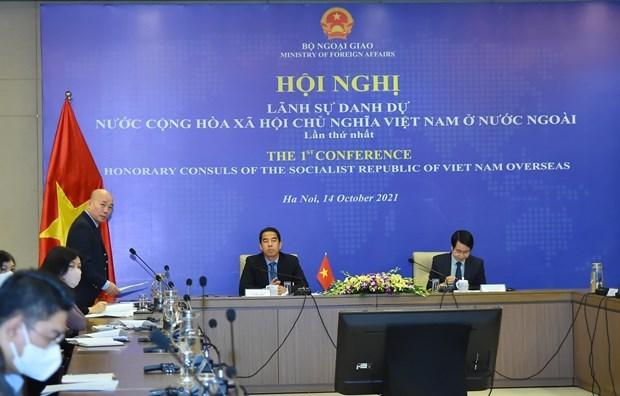越南社会主义共和国驻外名誉领事会议召开 hinh anh 1