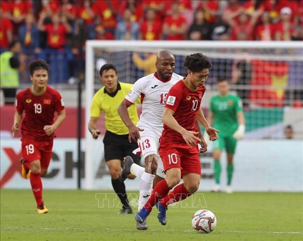 2019亚洲杯:西亚媒体赞佩越南国足 hinh anh 1