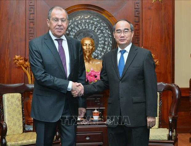 促进胡志明市与俄罗斯各地的合作 hinh anh 1