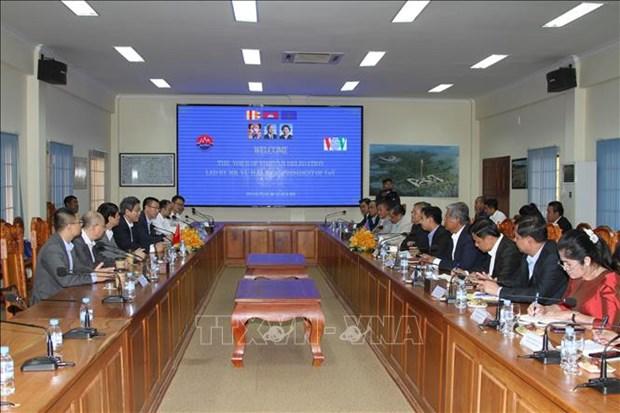 越南和柬埔寨加强信息通信领域的合作 hinh anh 1
