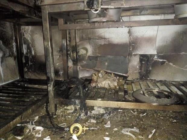 广宁省酒店火灾事故:5名中国游客获救 hinh anh 1