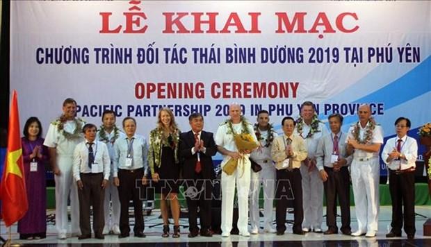 2019年太平洋伙伴计划正式启动 hinh anh 1
