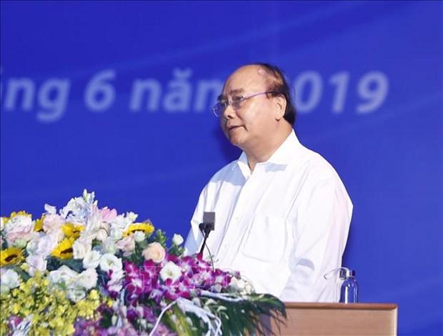 越南政府总理阮春福主持召开北部重点经济区发展会议 hinh anh 2
