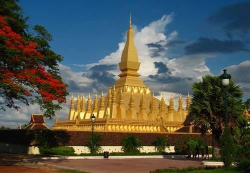 老挝设定2019年旅游收入达7亿美元的目标 hinh anh 1