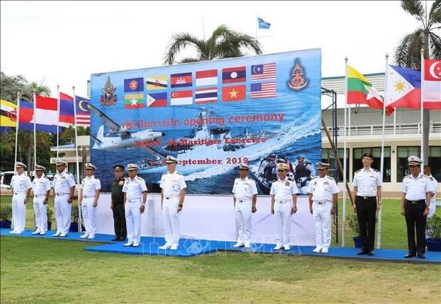 越南参加东盟-美国国际海事演习 hinh anh 1