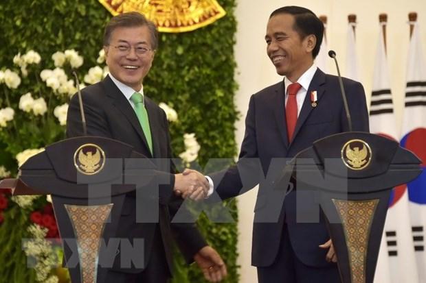 韩国与印尼加强双边合作并达成《全面经济伙伴关系协议》 hinh anh 1