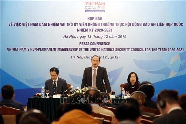 越南希望为促进安理会在维护国际和平与安全的领先作用做出贡献 hinh anh 1