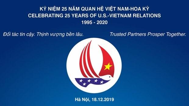 越美两国启动纪念建交25周年的活动 hinh anh 2