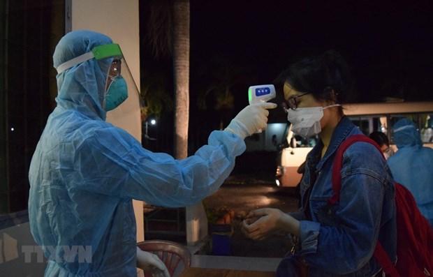 13日上午越南无新增新冠肺炎确诊病例 累计治愈出院910例 hinh anh 1