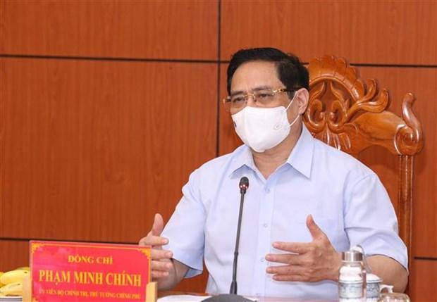 范明政总理:哪个地方发生大规模的疫情蔓延必须对负责人追责问责 hinh anh 2