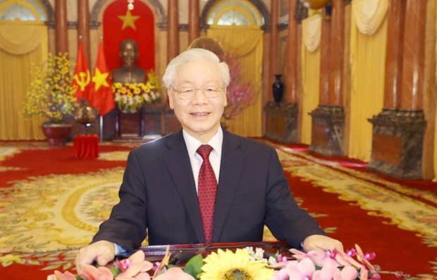 越共中央总书记阮富仲在中国共产党与世界政党领导人峰会上的讲话(全文) hinh anh 1