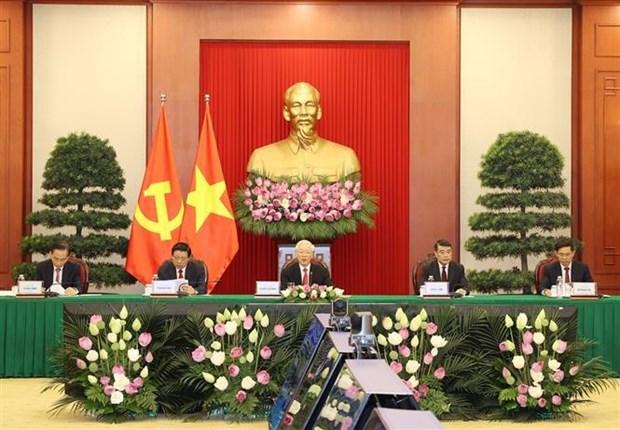 越共中央总书记阮富仲在中国共产党与世界政党领导人峰会上的讲话(全文) hinh anh 3
