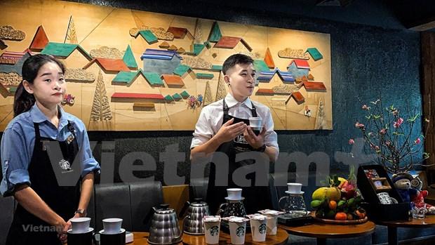 星巴克将越南文化元素融入产品  hinh anh 2