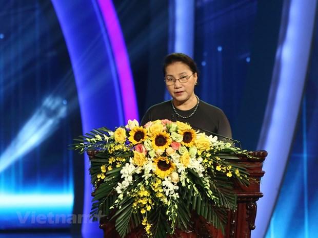 组图:2019年越南对外新闻奖颁奖典礼在河内举行 hinh anh 4