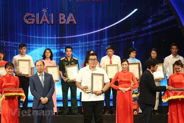 组图:2019年越南对外新闻奖颁奖典礼在河内举行 hinh anh 5