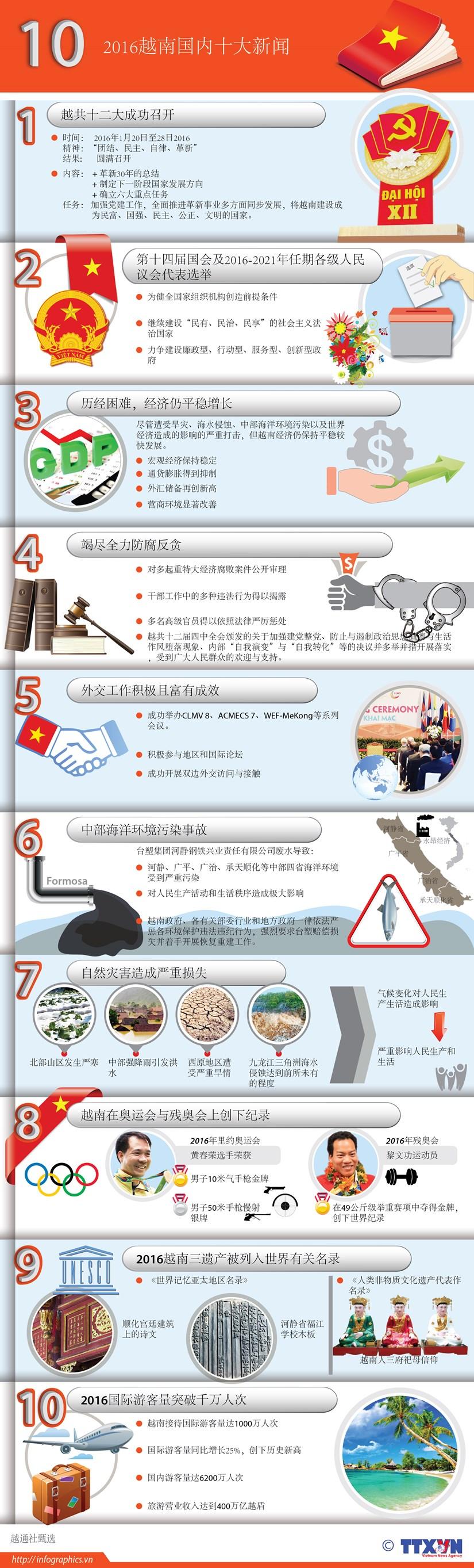 2016越南国内十大新闻 hinh anh 1