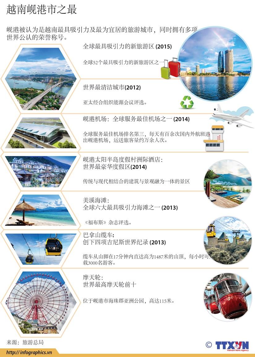 图表新闻:越南岘港市之最 hinh anh 1
