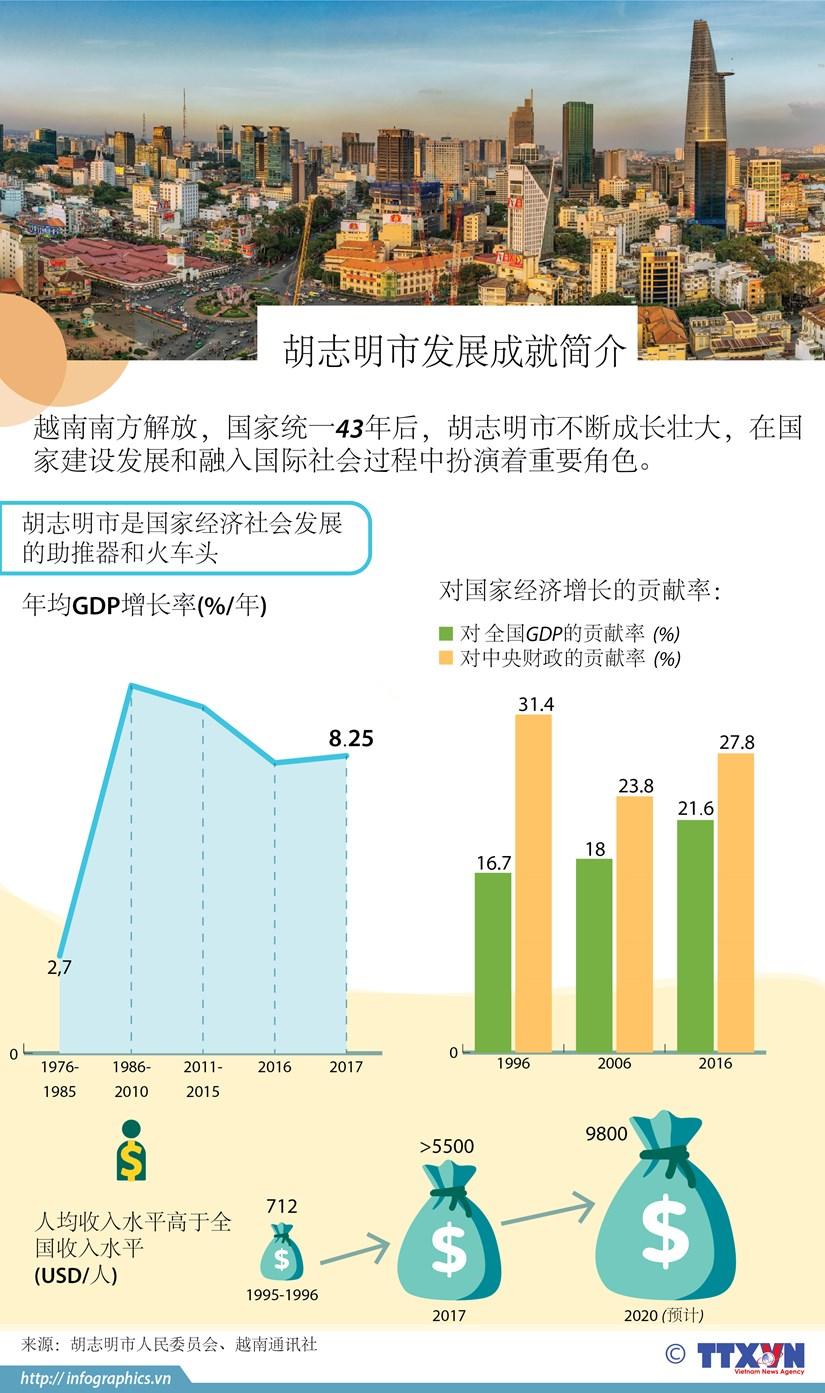 图表新闻:胡志明市发展成就简介 hinh anh 1