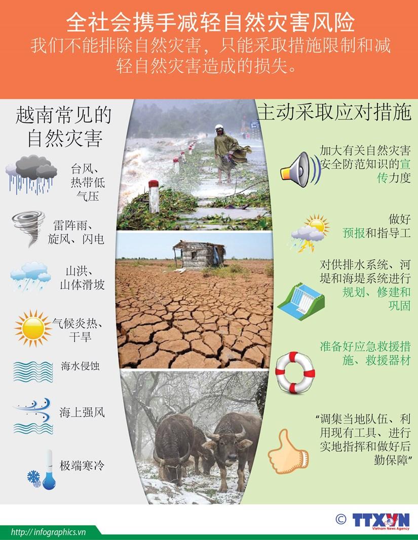 图表新闻:全社会携手减轻自然灾害风险 hinh anh 1