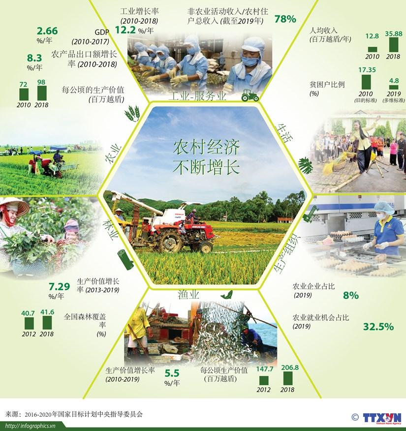 图表新闻:越南农村经济不断增长 hinh anh 1
