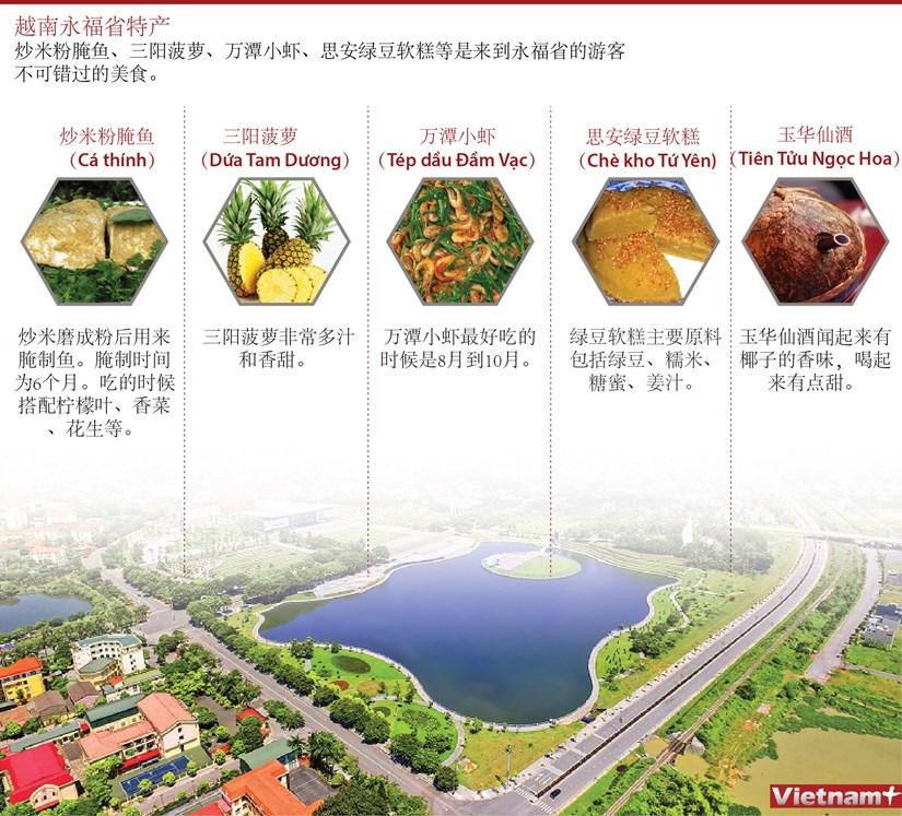 图表新闻:越南永福省特产 hinh anh 1