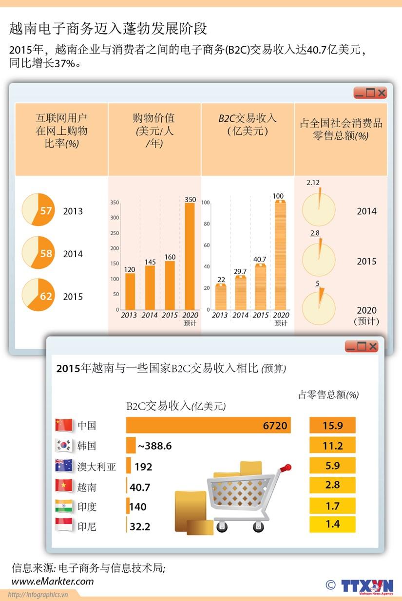越南电子商务迈入蓬勃发展阶段 hinh anh 1