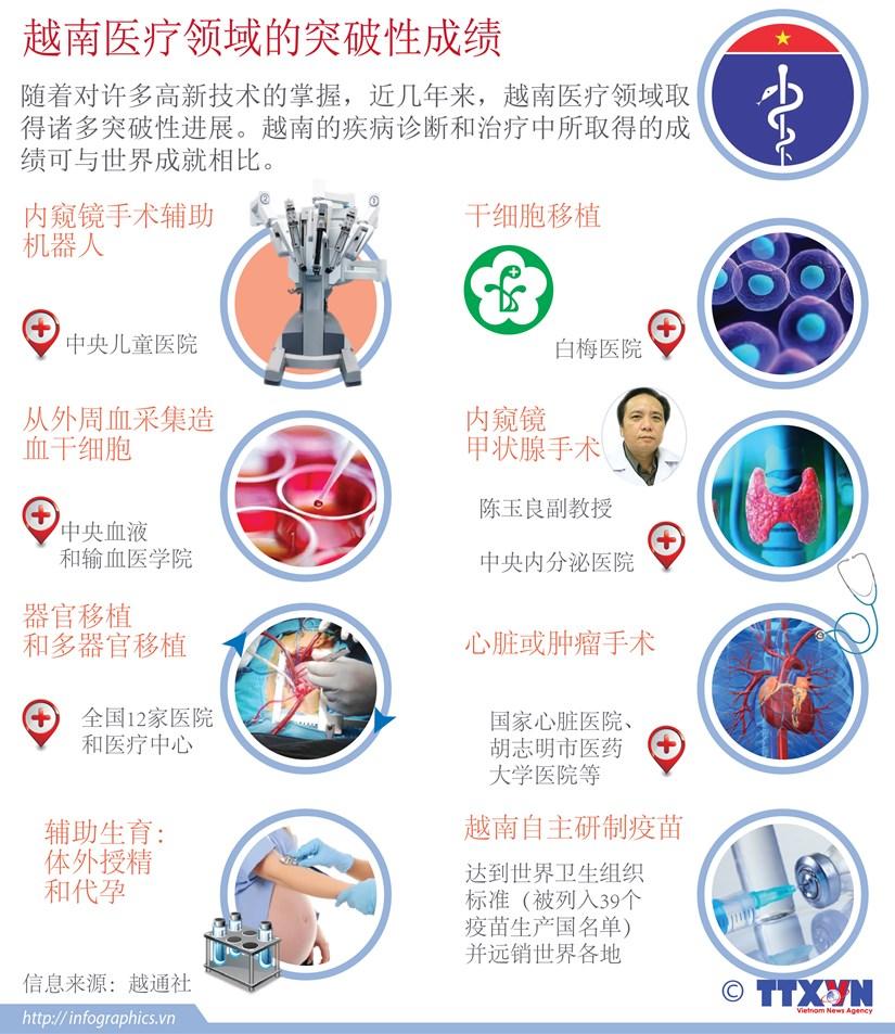 越南医疗领域的突破性成绩 hinh anh 1