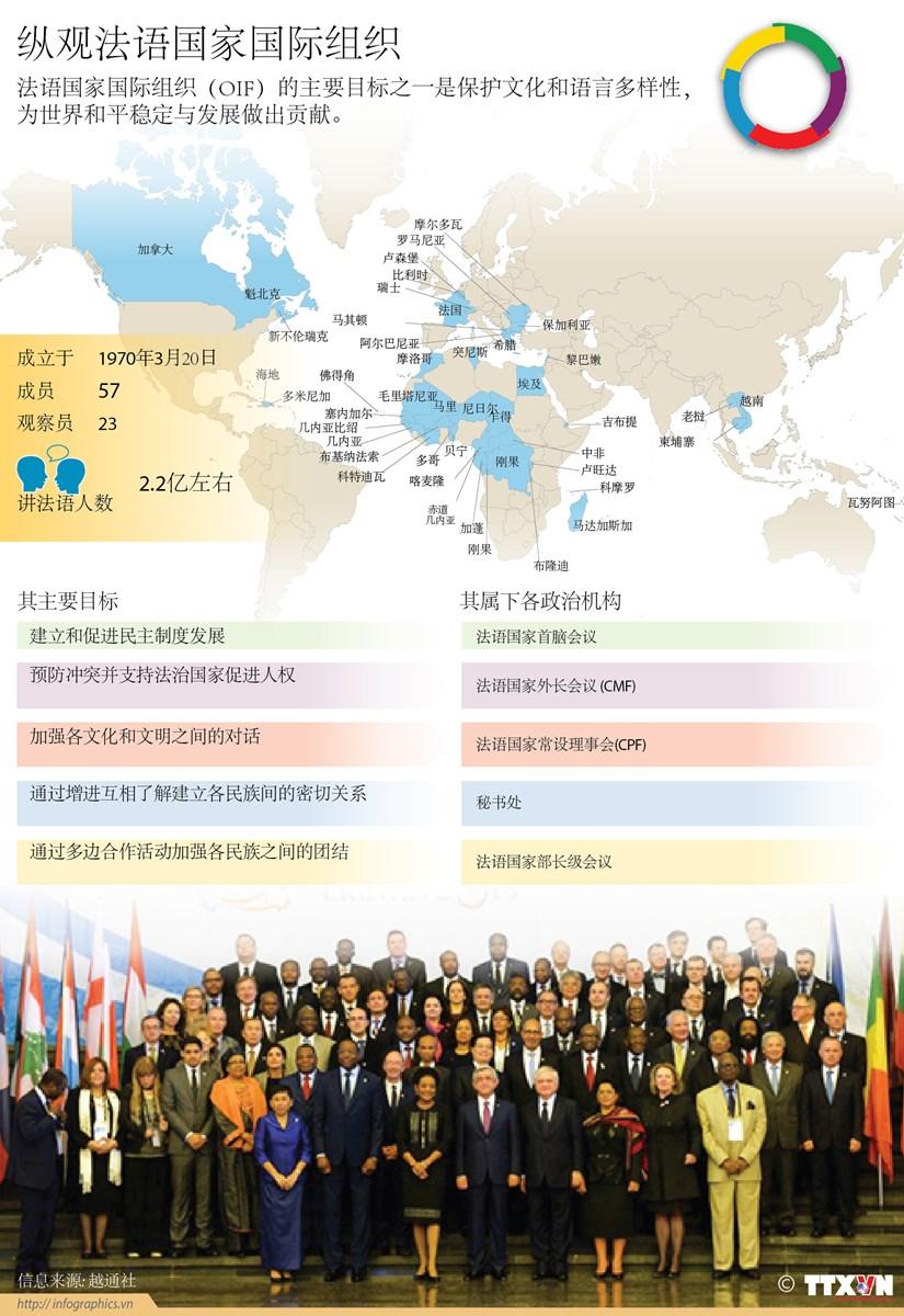 纵观法语国家国际组织 hinh anh 1