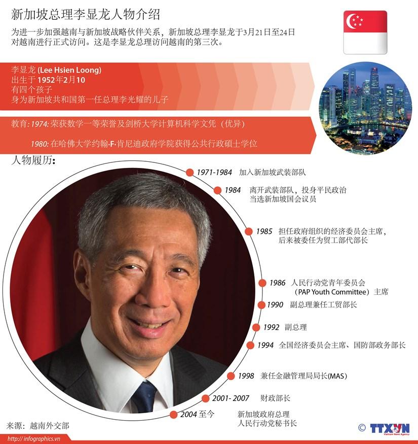 新加坡总理李显龙人物介绍 hinh anh 1