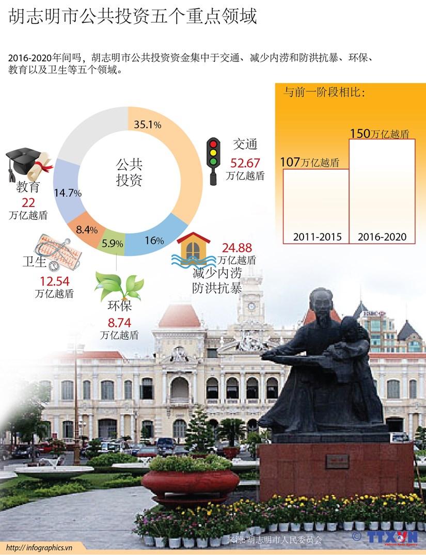 胡志明市公共投资五个重点领域 hinh anh 1