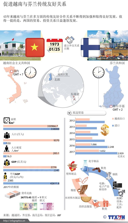 图表新闻:促进越南与芬兰传统友好关系 hinh anh 1