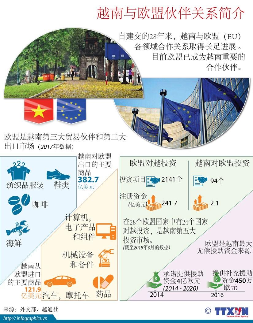 图表新闻:越南与欧盟伙伴关系简介 hinh anh 1