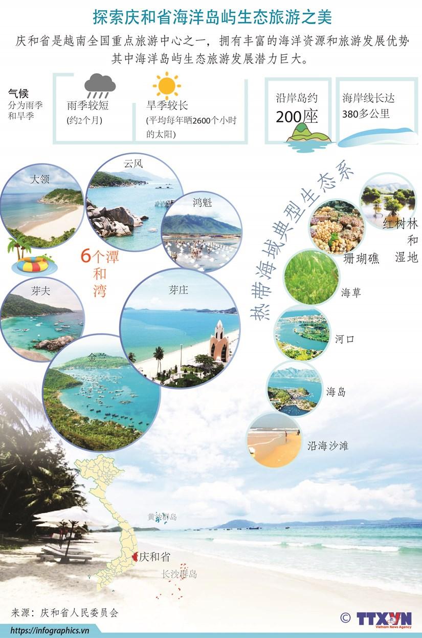 图表新闻:探索庆和省海洋岛屿生态旅游之美 hinh anh 1