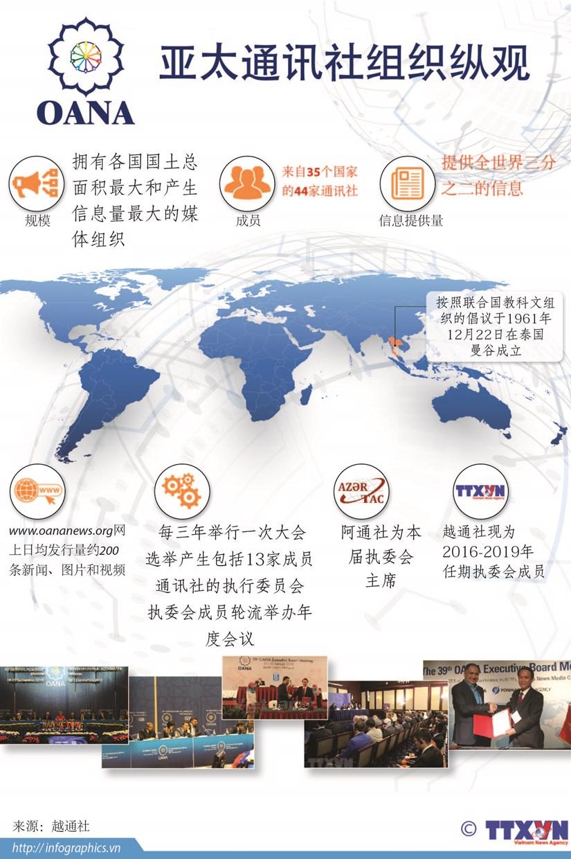 图表新闻:亚太通讯社组织纵观 hinh anh 1